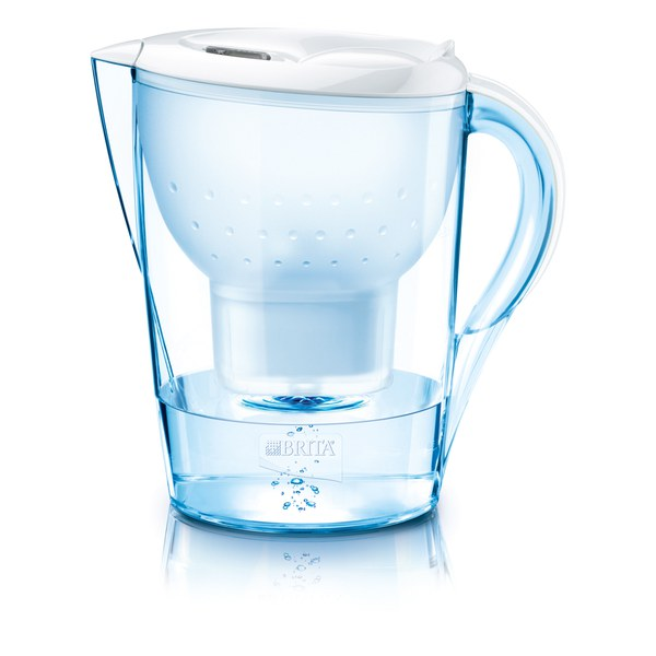 BRITA Marella XL Cool Water Filter Jug - White (3.5L) | IWOOT