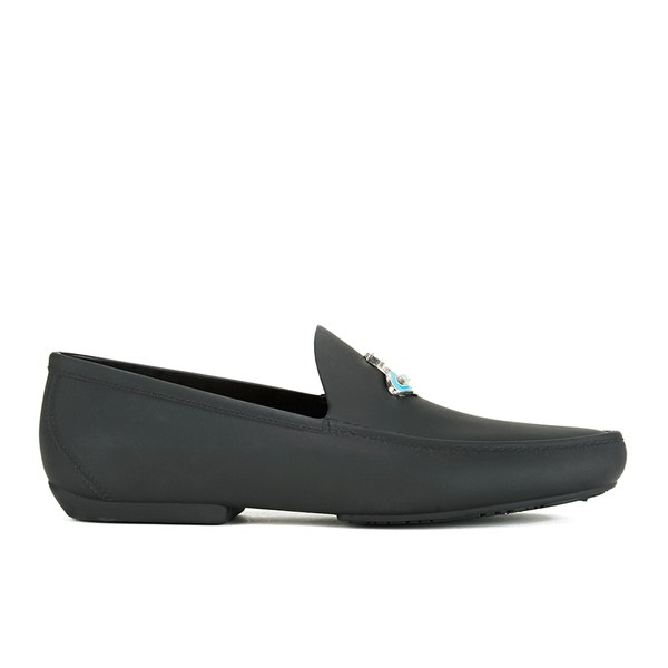 Vivienne Westwood Anglomania Men's Safety Orb Moccasin Shoes - Black