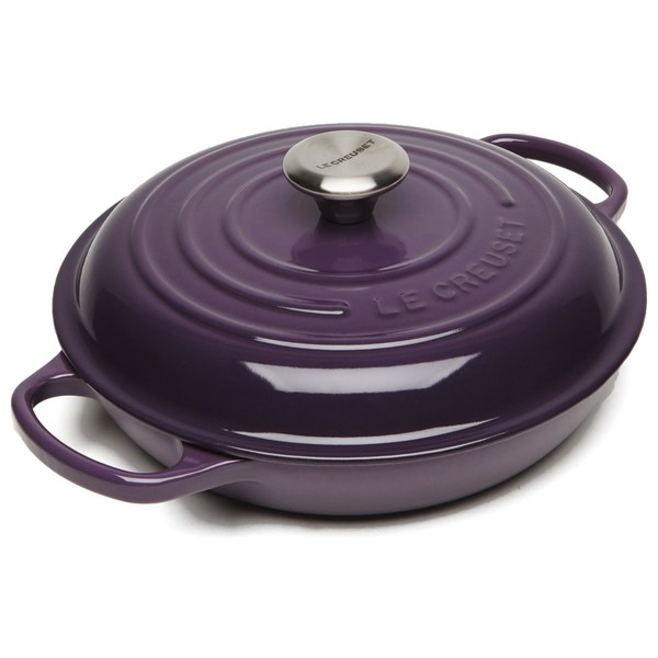 Le Creuset Signature Cast Iron Shallow Casserole Dish