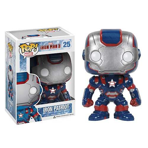 Iron Man 3 Iron Patriot Pop! Vinyl Figure