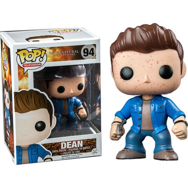 Supernatural Blood Splatter Dean Pop! Vinyl Figure