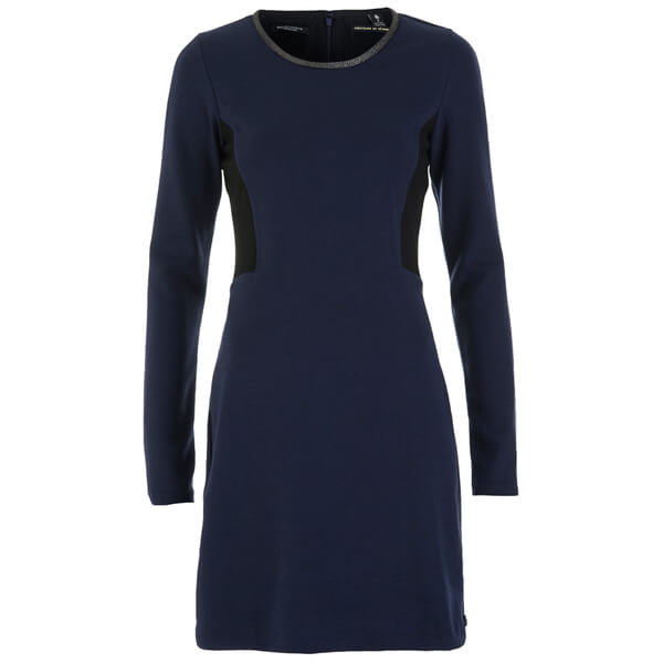 Maison Scotch Women's Tailored Fitted Mini Dress - Night Melange