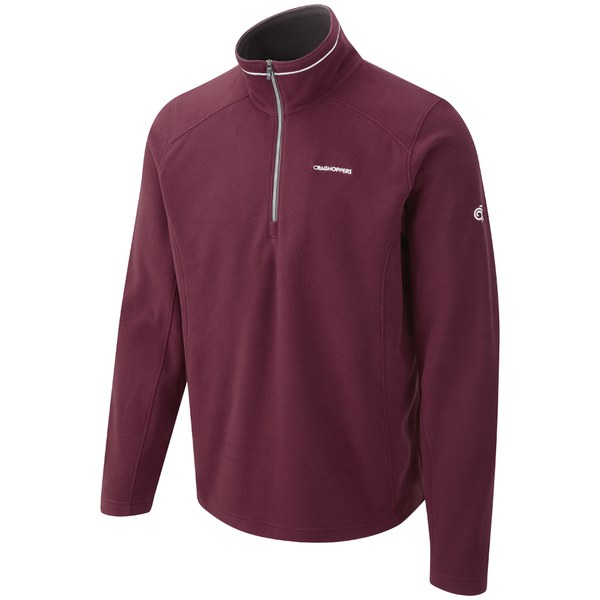 Craghoppers Men's Kiwi Interactive Fleece - Burgundy