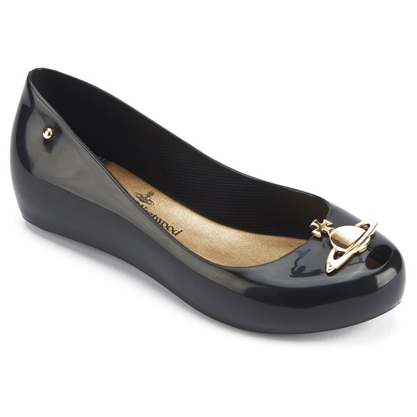 Vivienne Westwood Black Flat Shoes