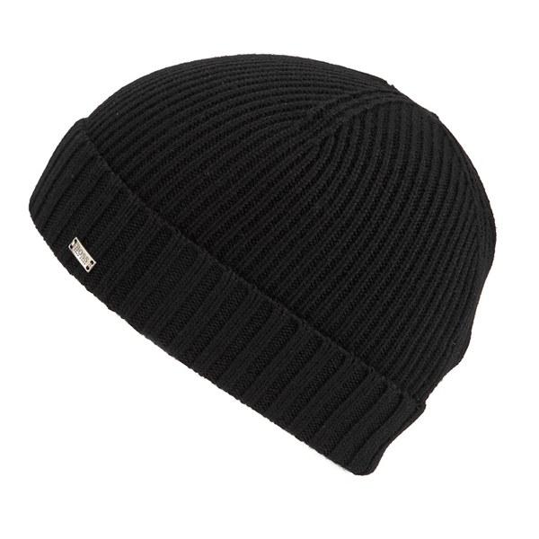 BOSS Hugo Boss Men s Fati Beanie Hat - Black Mens Accessories ... b5a3ba991bd8