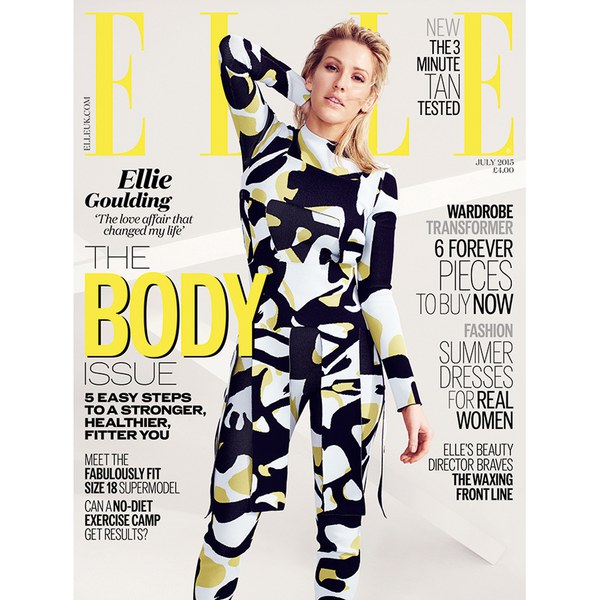 ELLE Magazine July 2015