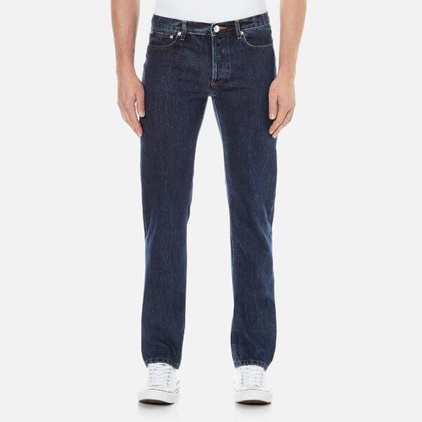 A.P.C. Men's Petit Standard Slim Leg Denim Jeans - Selvedge Indigo: Image 1