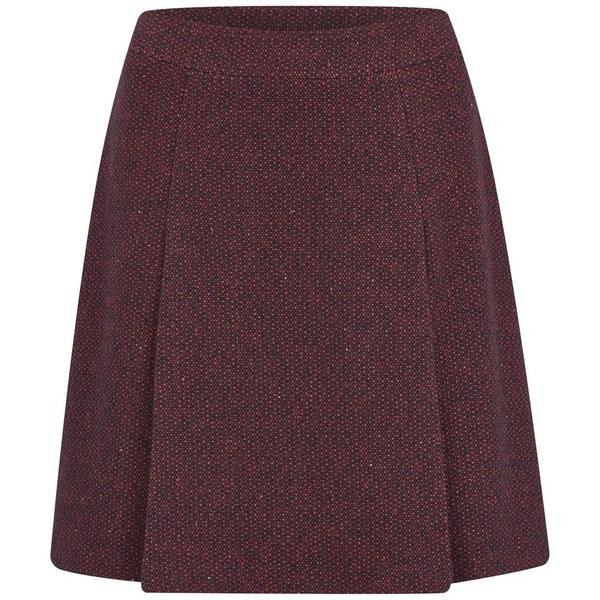 A.P.C. Women's Bab Skirt - Bordeaux Chine