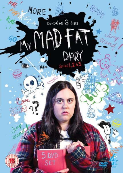 My Mad Fat Diary Series 1 3 Dvd Zavvi