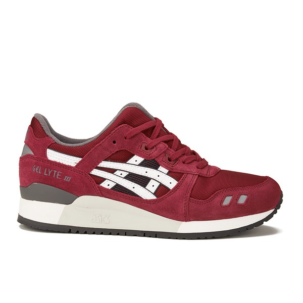 Asics Tiger GEL-LYTE III - Trainers - burgundy