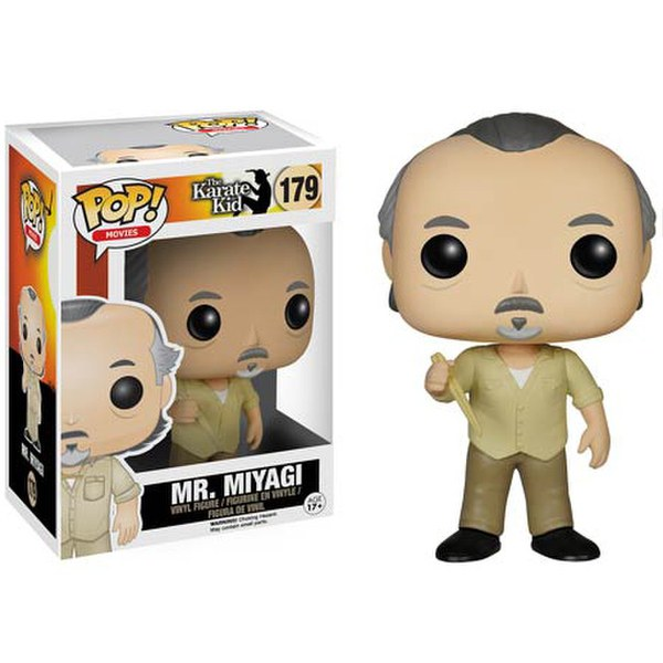 Karate Kid Mr. Miyagi Pop! Vinyl Figure