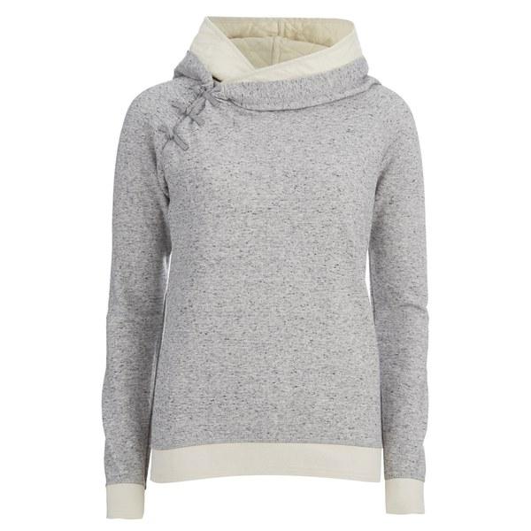 Maison Scotch Women's Home Alone Double Hooded Sweatshirt - Grey ...