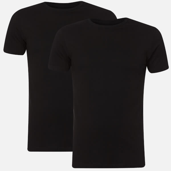 Polo Ralph Lauren Men's 2 Pack Crew T-Shirts - Black