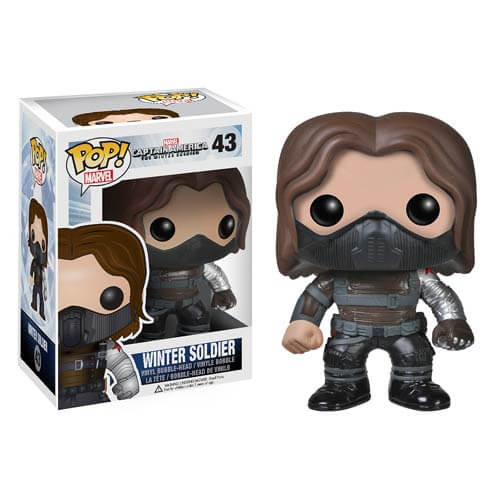 Captain America The Winter Soldier Unmasked Pop! Vinyl Figure