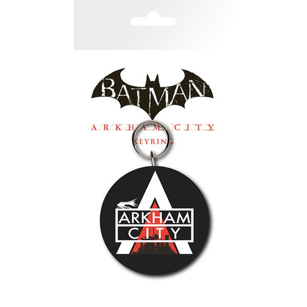 Porte-Clefs Logo Batman Arkham City - DC Comics