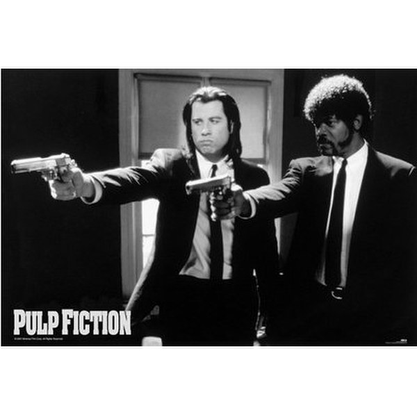 Pulp Fiction Guns - 24 x 36 Inches Maxi Poster