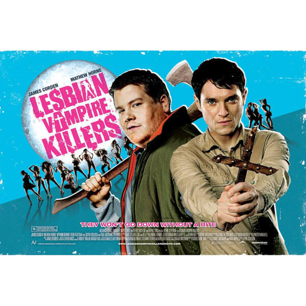 Lesbian Vampire Killers One Sheet - 24 x 36 Inches Maxi Poster