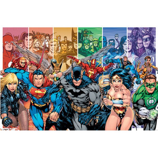 Justice League America Generations - 24 x 36 Inches Maxi Poster