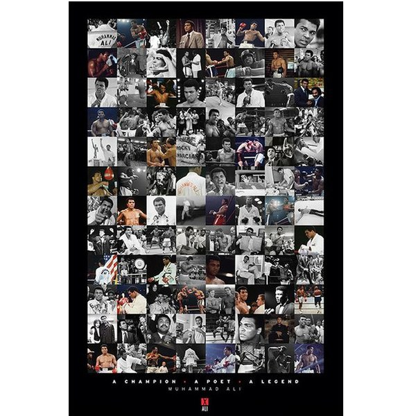 Muhammad Ali Montage - 24 x 36 Inches Maxi Poster