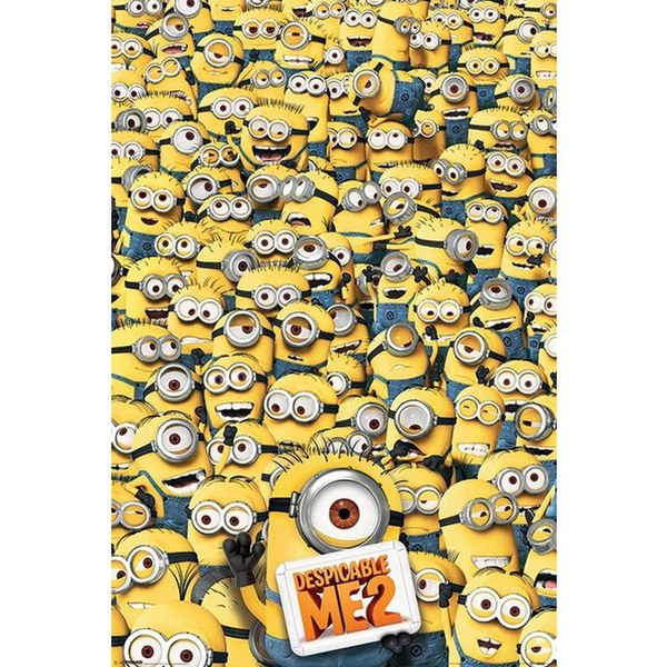 Despicable Me 2 Many Minions 24 x 36 Inches Maxi Poster