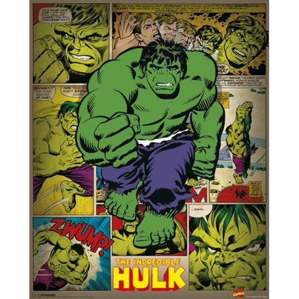 Free Comic Book Day Hulk Heroclix: Marvel Comics Incredible Hulk Retro