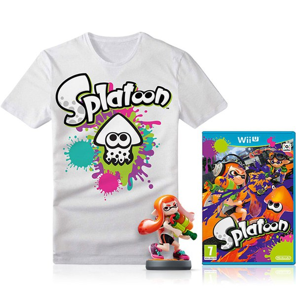 Splatoon + Inkling Girl amiibo Pack