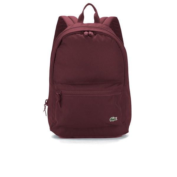 Lacoste Men s Backpack - Burgundy - Free UK Delivery over £50 6fb2738171