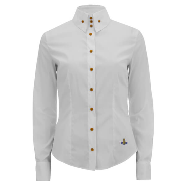 Vivienne Westwood Red Label Women's Classic Poplin Krall Shirt ...
