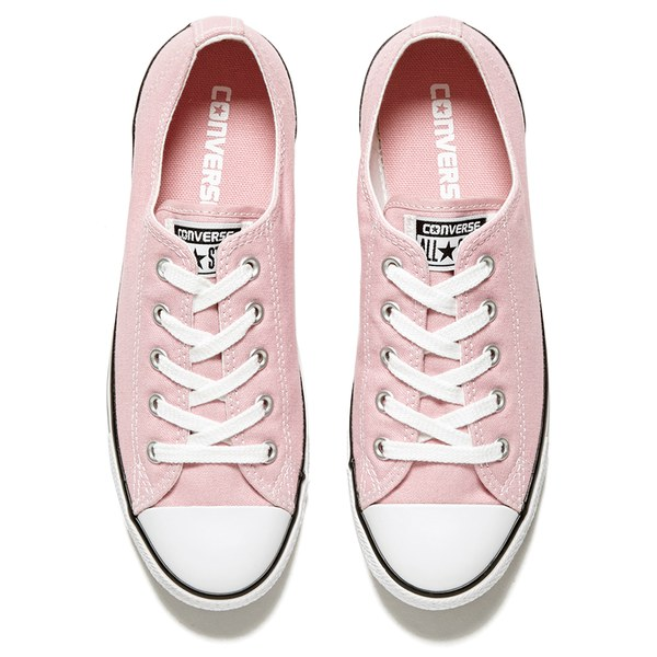 Converse Women\u0027s Chuck Taylor All Star Dainty OX Trainers - Pink Freeze:  Image 2