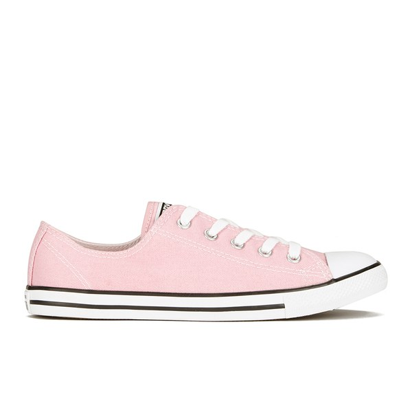 fdfd58b8715 Converse Women s Chuck Taylor All Star Dainty OX Trainers - Pink Freeze   Image 1