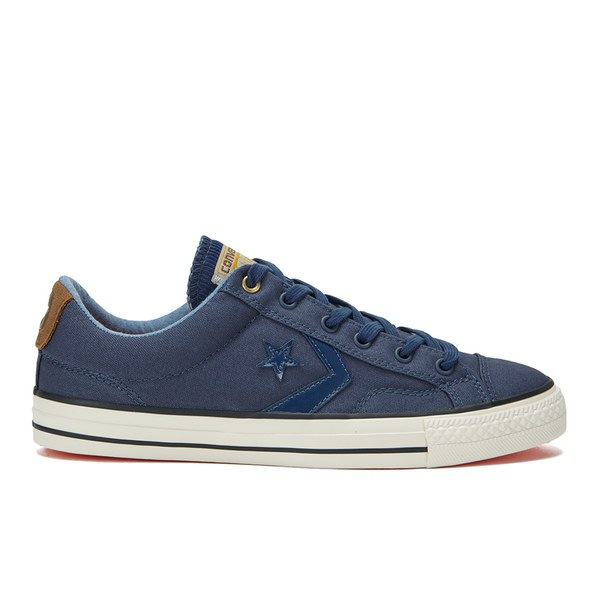 73c8110e9ae71b Converse CONS Men s Star Player Workwear Canvas Trainers -  Navy Rubber Egret  Image