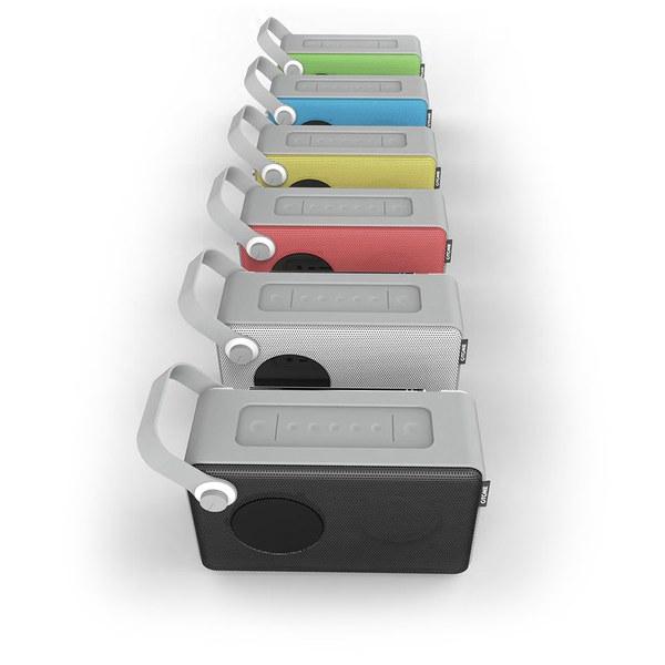 otone blumotion portable bluetooth dab radio blue. Black Bedroom Furniture Sets. Home Design Ideas