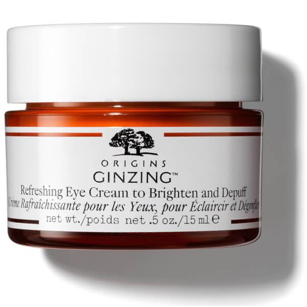 Origins GinZing Refreshing Eye Cream to Brighten and Depuff 15 ml
