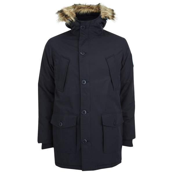 448a1158e153 Superdry Men s Everest Twin Peaks Jacket - Navy Clothing