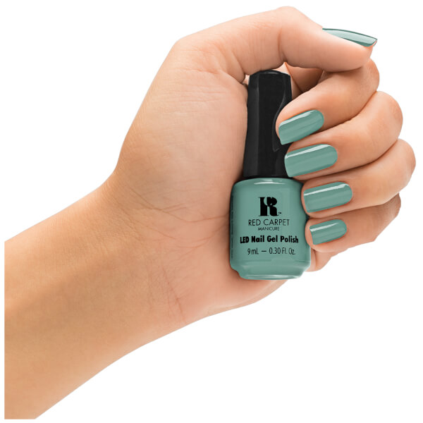 Red carpet manicure a new york minute light green cr me for 24 hour nail salon new york