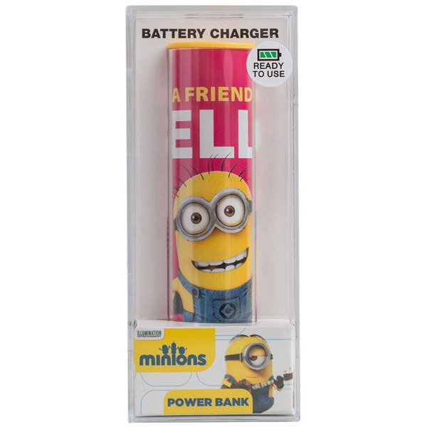 Tribe Minions Friendly Portable Power Bank