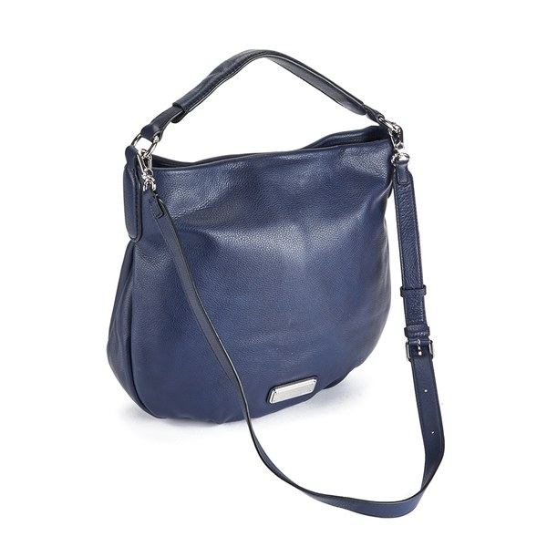 Marc by Marc Jacobs Women s New Q Hillier Hobo Bag - India Ink  Image 2 a2893531c7