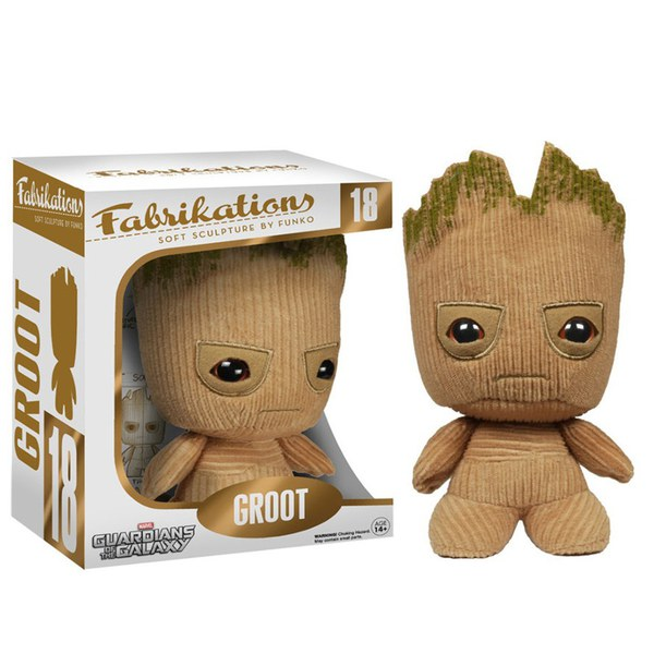 Marvel Guardians Of The Galaxy Groot Fabrikations Plush Figure