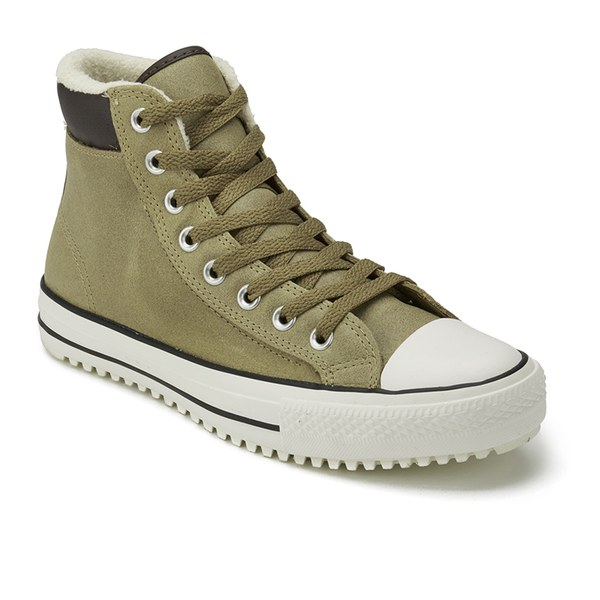 62cb0fb24a4 Converse Men s Chuck Taylor All Star Vintage Leather Shearling Converse  Boots - Sand Dune