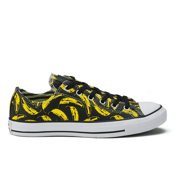 Converse All Star Warhoal Banana Ox Mens Trainers