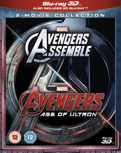 Coffret 3D Avengers / Avengers : L'ère d'Ultron