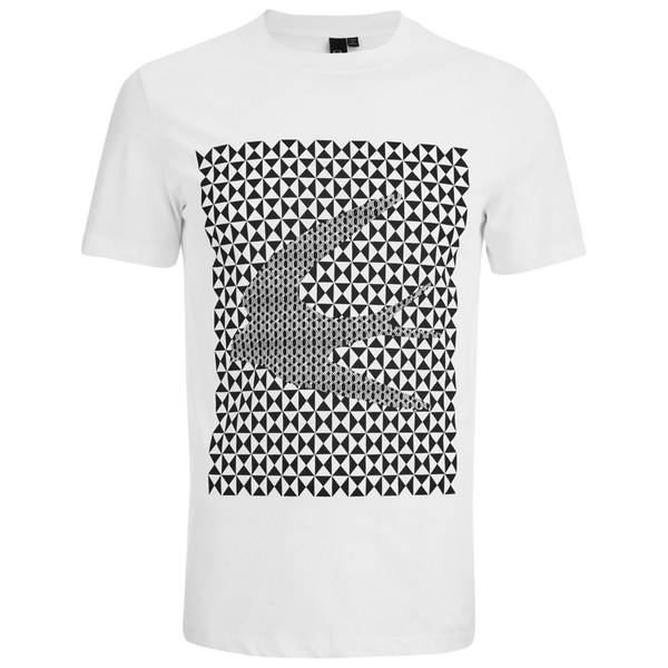 McQ Alexander McQueen Men's Short Sleeve Swallow Crew T-Shirt - Optic White:  Image