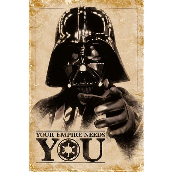 Star Wars Your Empire Needs You - 24 x 36 Inches Maxi Poster