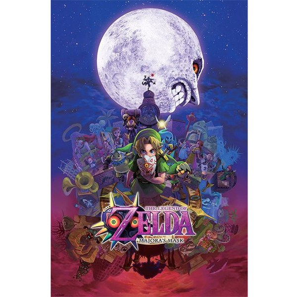 Nintendo The Legend Of Zelda Majora's Mask - 24 x 36 Inches Maxi Poster