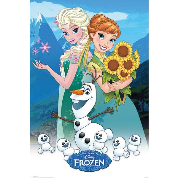 Disney Frozen Fever  - 24 x 36 Inches Maxi Poster