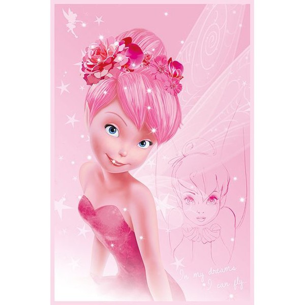 Disney Princess Tink Pink - 24 x 36 Inches Maxi Poster