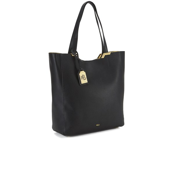 45e49a4009fa Lauren Ralph Lauren Women s Acadia Tote Bag - Black  Image 2