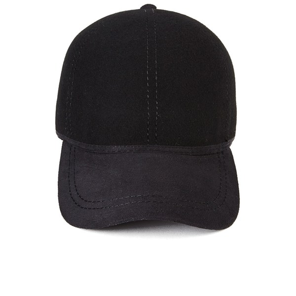 Christys  London Mens British Ball Cap - Black  Image 1 2f155dd4e053