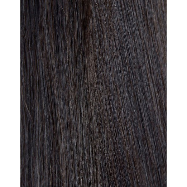 Échantillon d'extension de cheveux 100% Remy de Beauty Works - Ebony 1B
