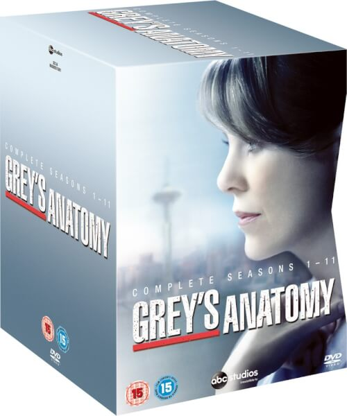 Greys Anatomy Season 1 11 Dvd Zavvi